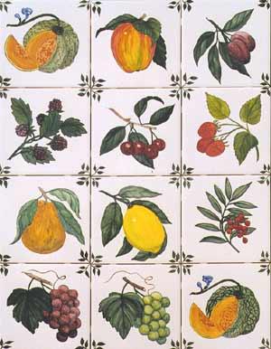 Kitchen Tiles With Fruit Design - Home Design - Judea.us
